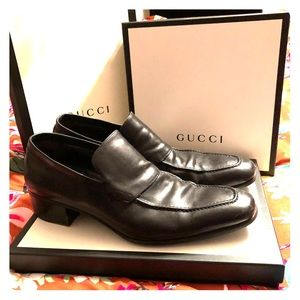 Authentic Gucci men's loafers
